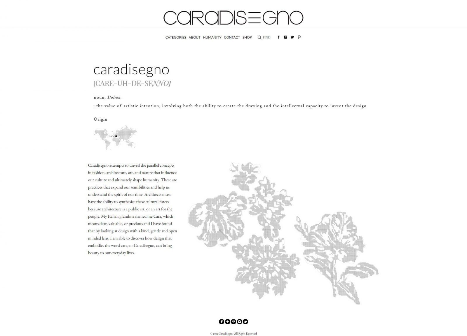 Caradisegno-Website-Design-Project-About-page