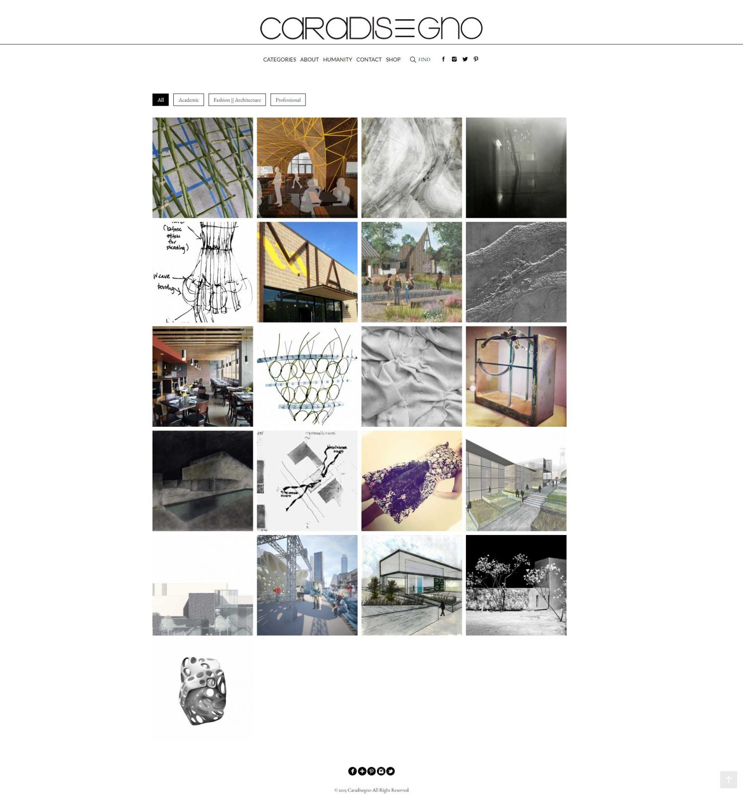 Caradisegno-Website-Design-Project-Architecture-Page
