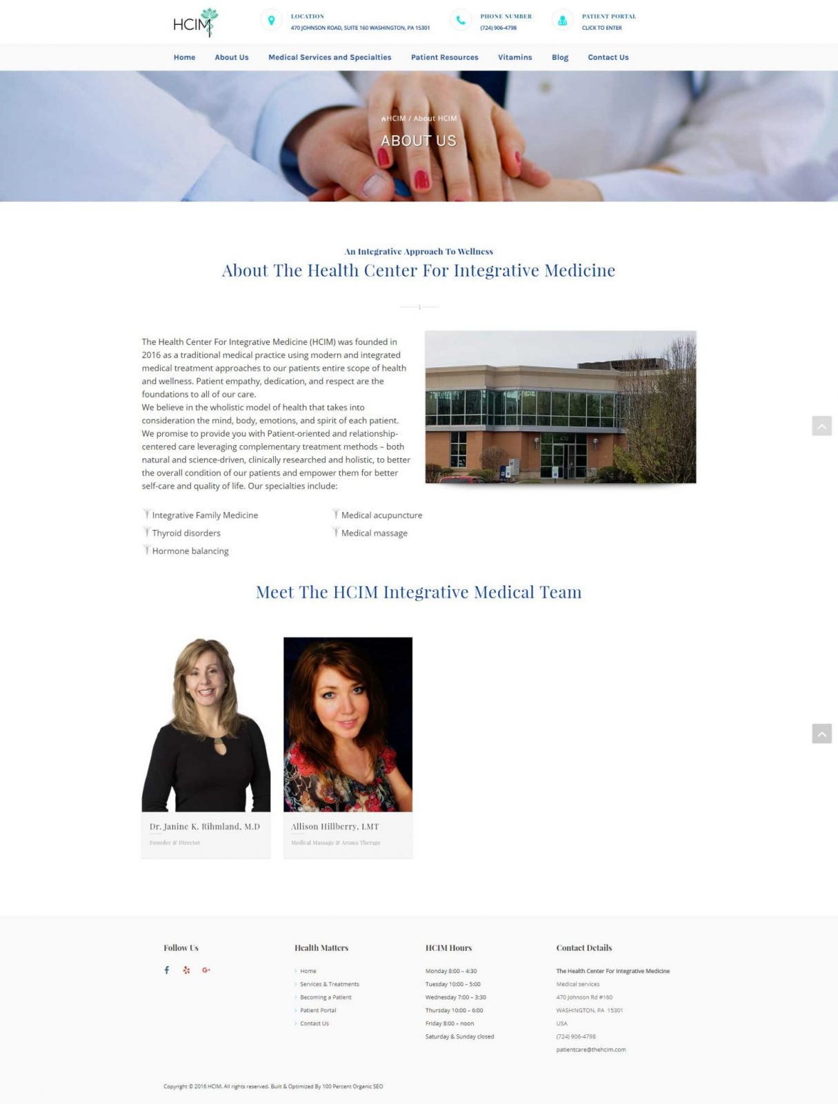 The-Health-Center-For-Integrative-Medicine-Website-About-Us