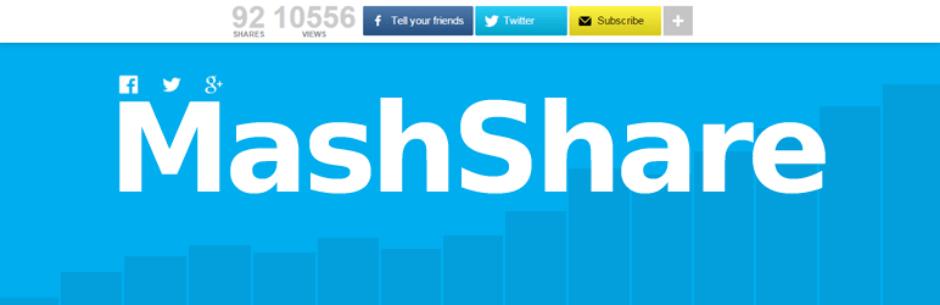 Social Media Share Buttons | MashShare By René Hermenau